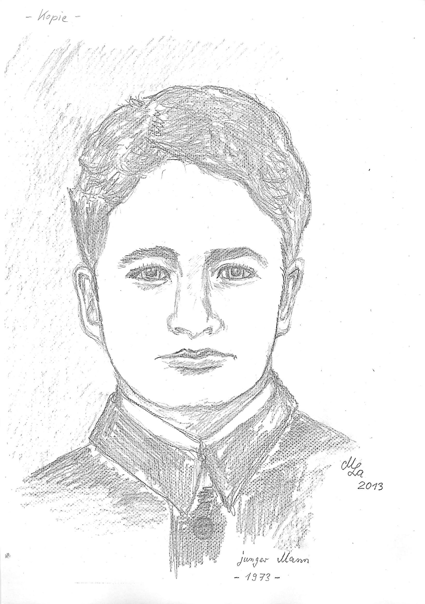 Portraitzeichnung von mir