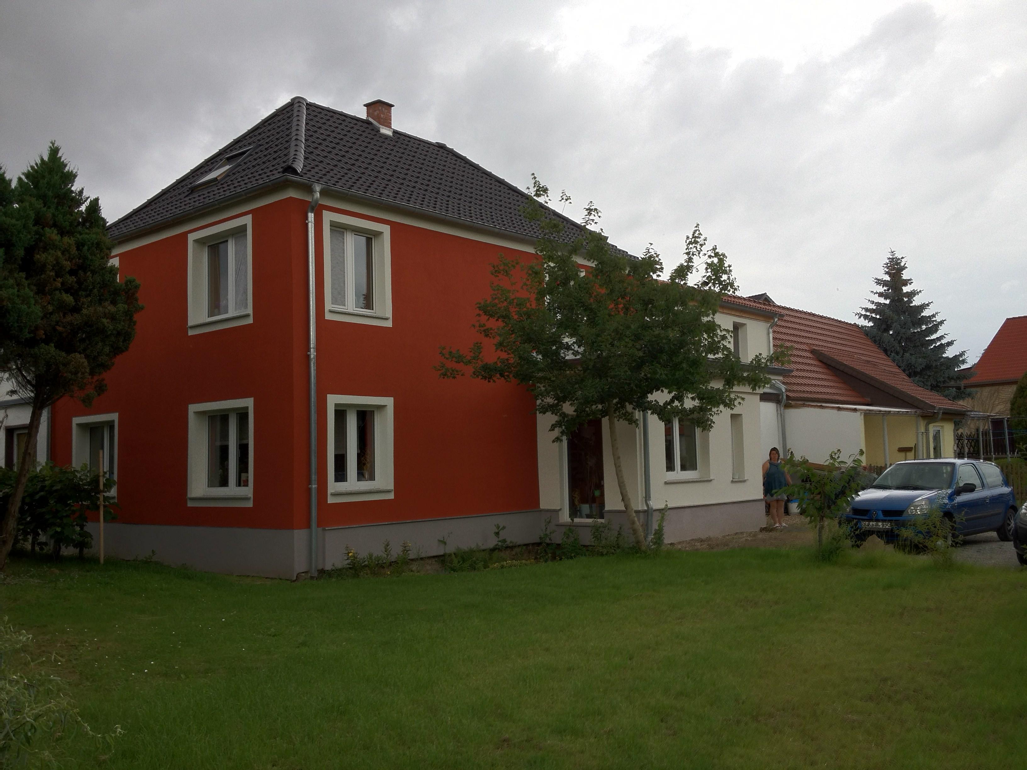 Unser Wohnhaus