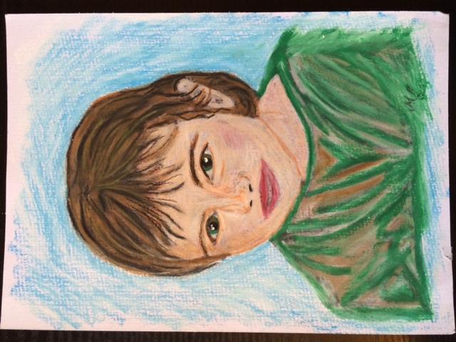 Tochter Jasmin im Alter von sieben Jahren.
